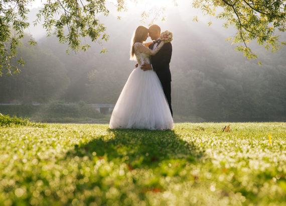 Romantyczny plener ślubny na Górze Żar