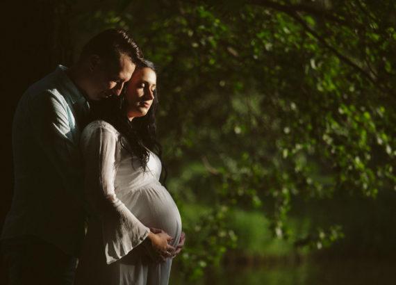Sesja ciążowa w Pszczynie