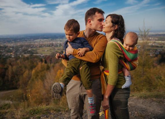 Spontaniczna sesja rodzinna