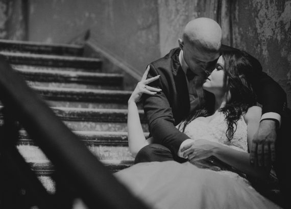 Ślubna sesja zdjęciowa w Pałacu