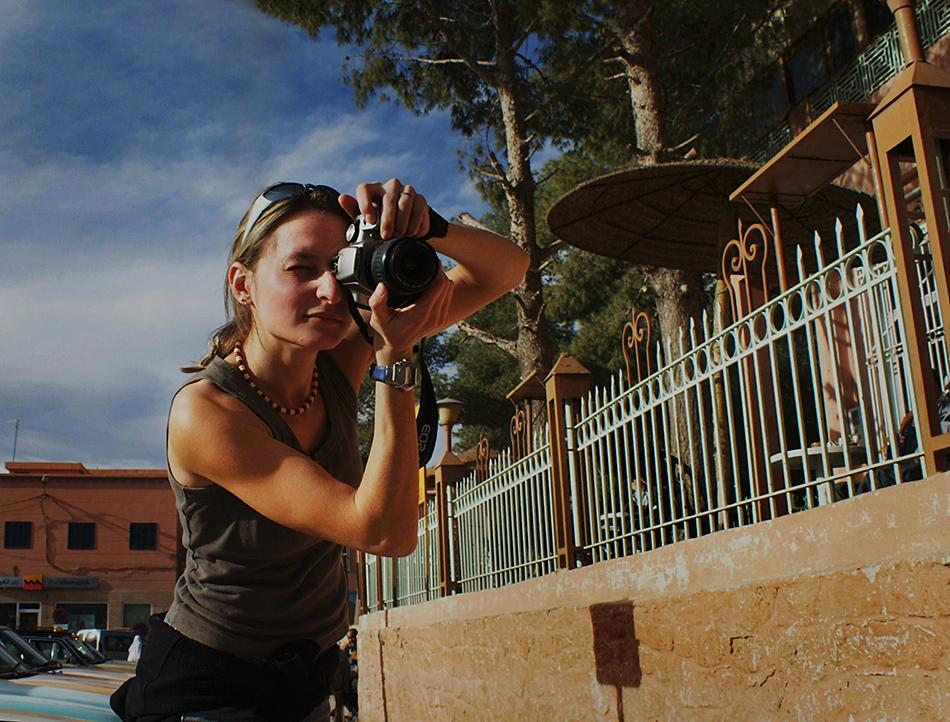 Sylwia Wykręt-Saczka, fotografuje w Maroko